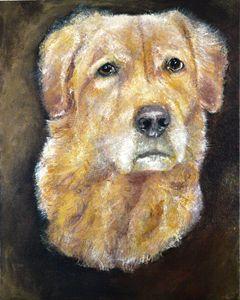 Golden Retriever - Timeless Art On Canvas