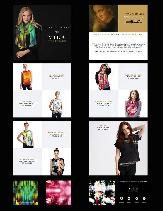 Clothing Line based off Art Work - MammaTrain