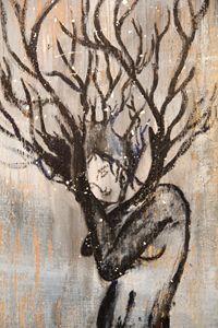 Winter Tree Lady