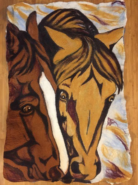 Newly Acquainted - Darkhorse Farms Art Studio