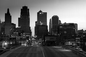 Kansas City Skyline in the morning