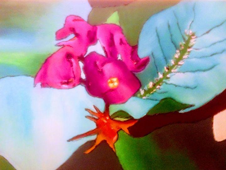 Purple flower - Giselle Bethke
