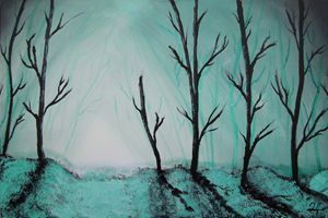 Dead Frozen Forest