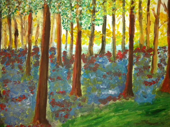 DAWN THROUGH THE TREES - JAMES STEPHENS