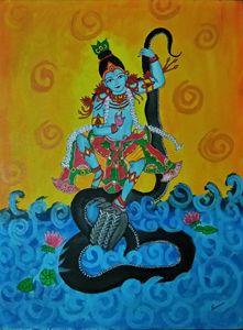 Krishna on Kalinga