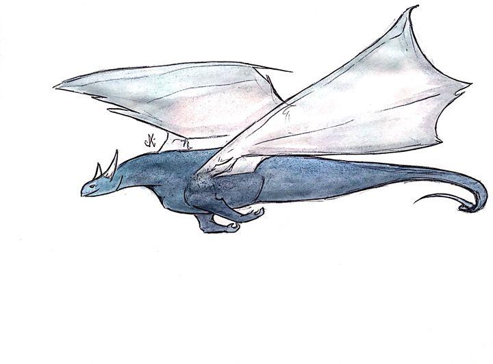 Lazy Drifter - Dragon Blue