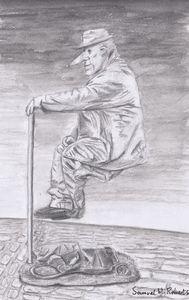 The Street Performer - Samuel H. Roberts