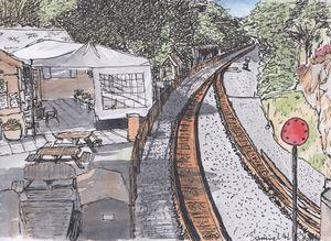 Tan-y-Bwlch Railway Station