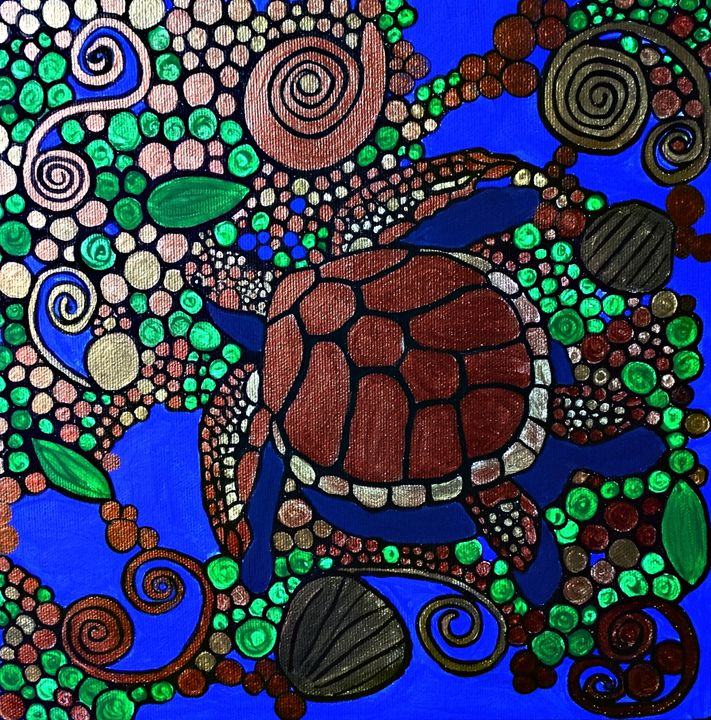 Copper Turtle - Northern Lights Art Co.