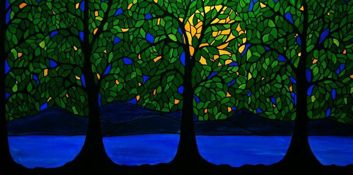 Jubilant Forest - Northern Lights Art Co.