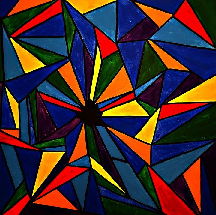 Fragmented - Northern Lights Art Co.