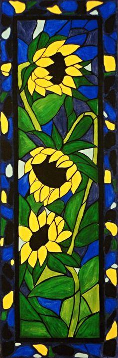 Sunflower Mosaic 1 - Northern Lights Art Co.