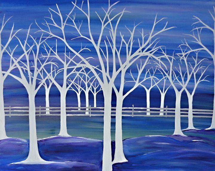 Violet Ghosts - Northern Lights Art Co.