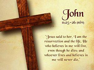 I Am the Resurrection....
