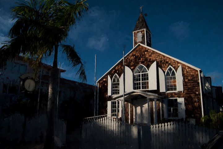 St. Martin clock house - Zeitlin Gallery