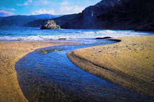 River into sea