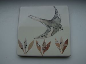 bird and seed tile