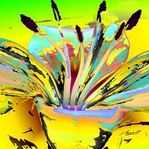 Lily Pop Yellow - j.lazell