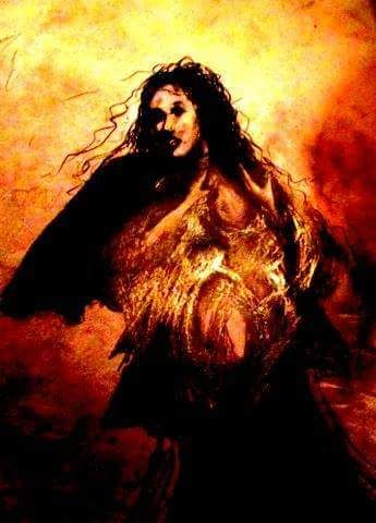 Fire woman - Jim Samuel Sohlman