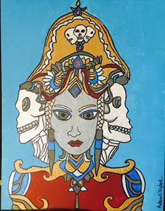 Skalle Drottning, (Skull Queen)