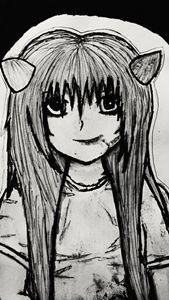 Creepy Anime Girl