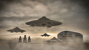 German WWII UFO by Raphael Terra