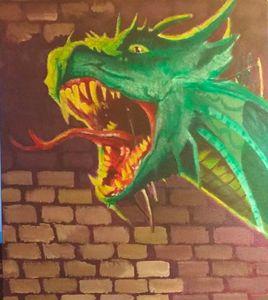 Dragon Tattoo Painting