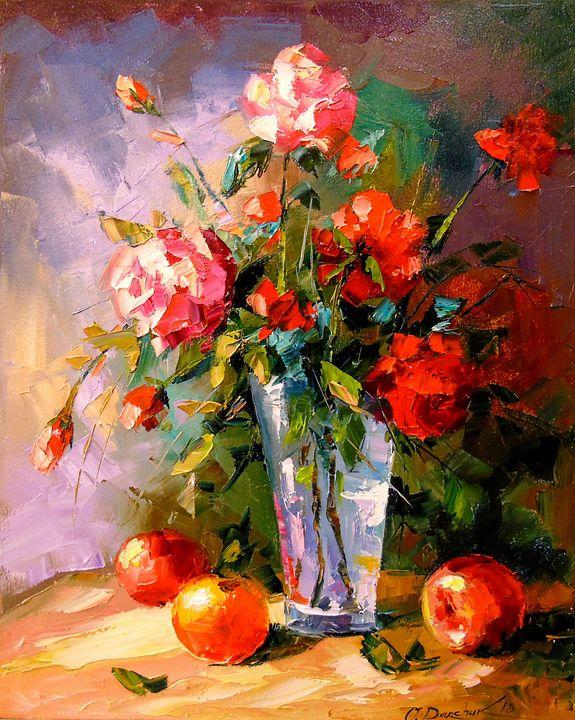 Roses and fruits - Olha Darchuk