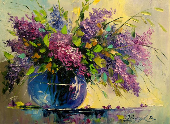 Lilac in a vase - Olha Darchuk