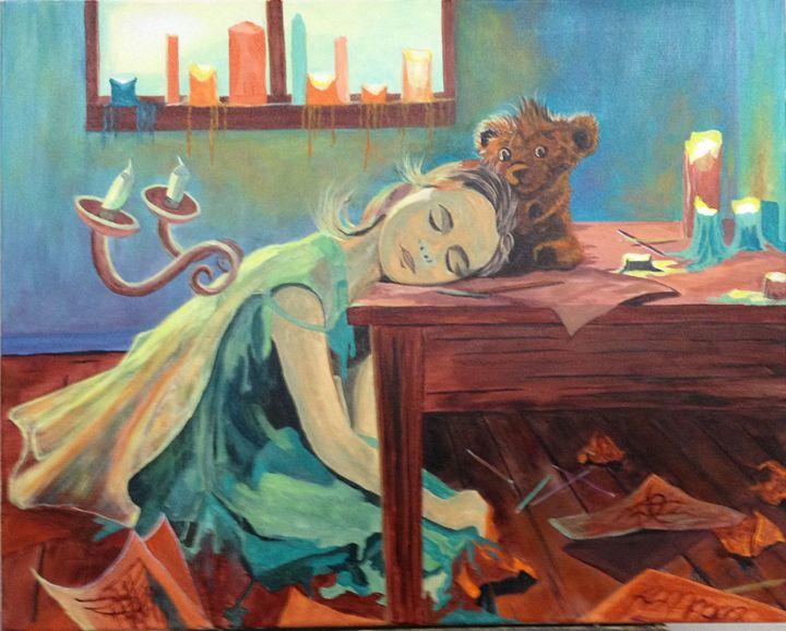 Little Girl Dreaming - Kim Castor