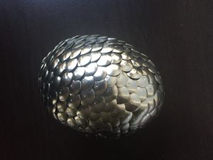 Silver Dragon Egg