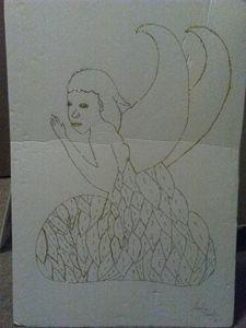 Crafted praying Angel