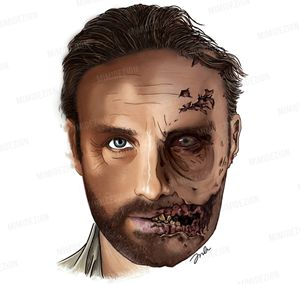 AMC's The Walking Dead Rick Grimes