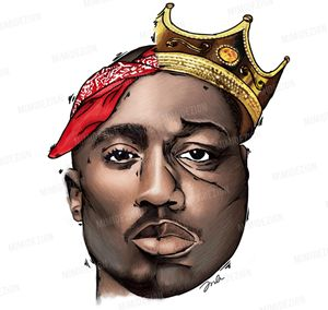 Tupac Shakur & Notorious B.I.G. Art