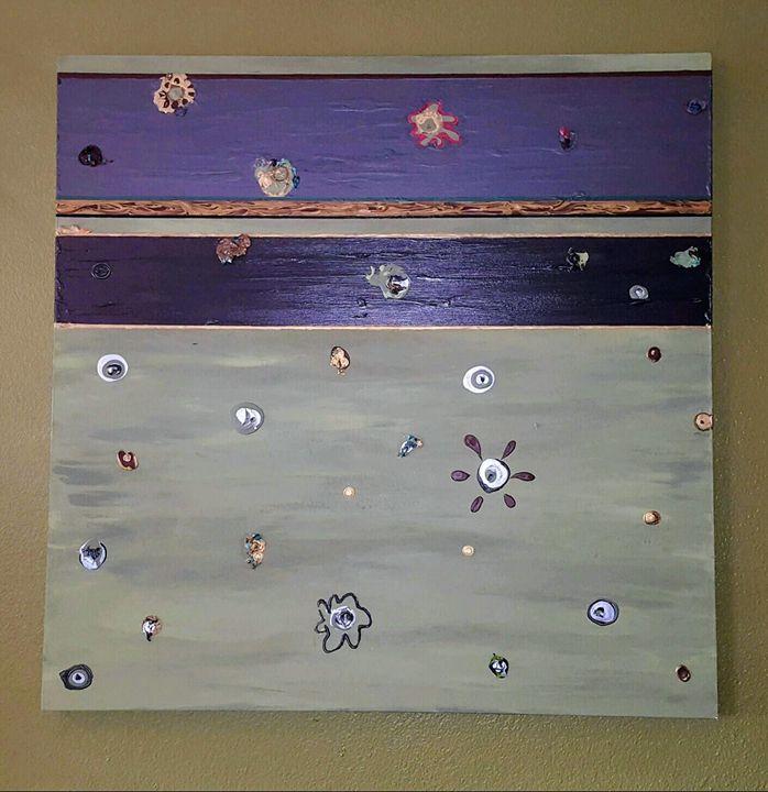Pretty Organism - Louis Vasquez Art Gallery