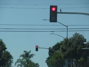 California Street Lights Stop