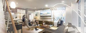 Interior Living Room Concept Renderi