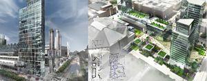 City Center Concept Board