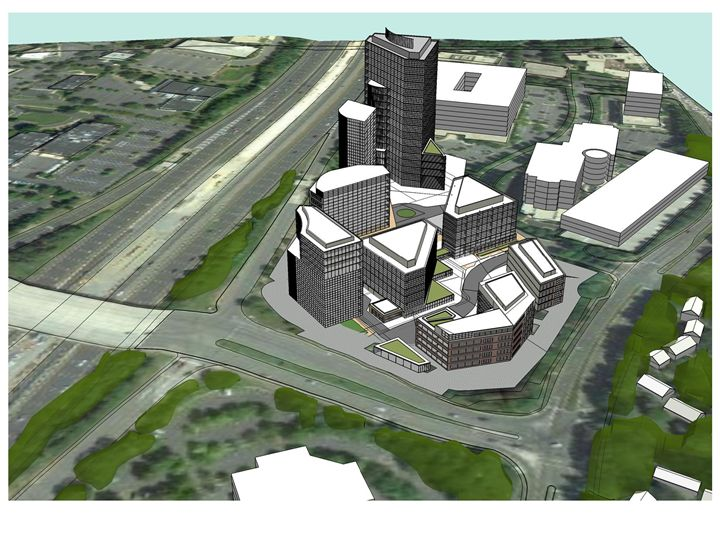 Transit Center Concept 2 - NapkinSketch Art