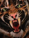 18x24in Acrylic Tiger on Canvas