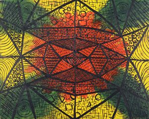 Symmetrical Pattern Painting