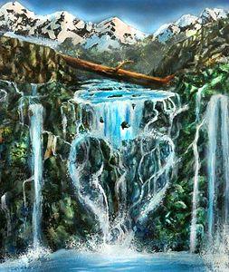 the love waterfall