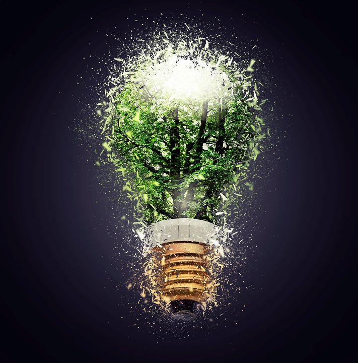 Electric bulb lamp - pbombaert