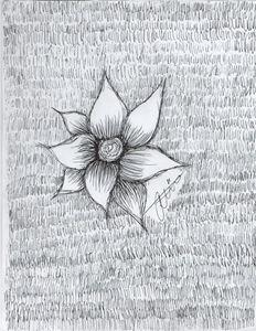 """""""Black and white flower"""""""