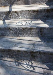 Stairs with shadow