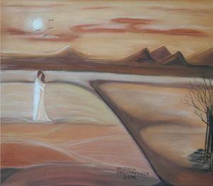 Love in desert