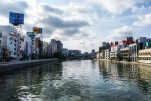 fukuoka naka river morning