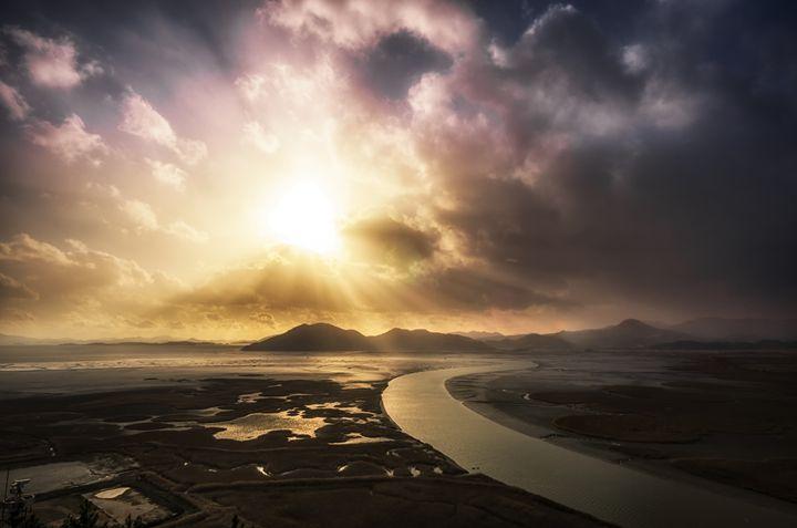 Suncheonman Sunset - Aaron Choi Photography