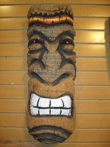 Wall Mount Tiki