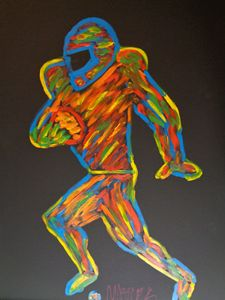 Electric Playa Finger Painted MKART